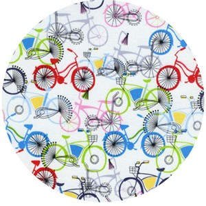 Timeless Treasures, Bicycles White