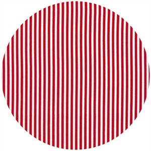 Timeless Treasures, Coastal Beach, Mini Stripe Red