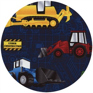 Timeless Treasures, Construction Vehicles Navy