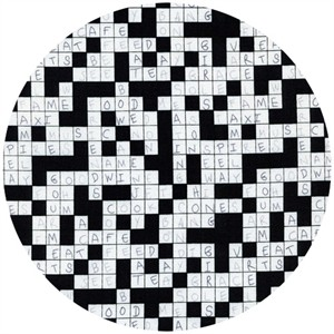 Timeless Treasures, Crossword Black and White