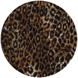 Timeless Treasures, FLANNEL, Leopard Brown