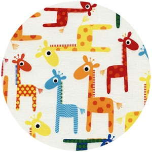 Timeless Treasures, Giraffes White
