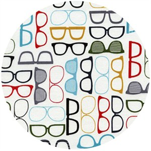 Timeless Treasures, Glasses White