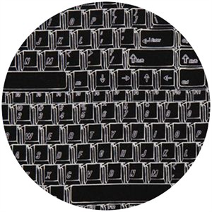Timeless Treasures, Keyboard Black