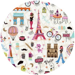 Timeless Treasures, Paris Motifs Multi