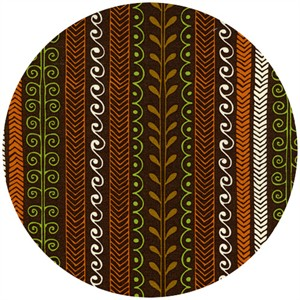 Timeless Treasures, Woodstock, Woodstock Stripe Brown