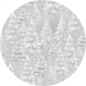 Quilting Treasures, Woodland Wonder, Tonal Trees Light Grey