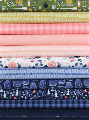 Rae Ritchie for Dear Stella, Trail Mix in FAT QUARTERS 11 Total