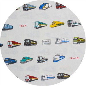 Cosmo Textiles, Train Types Cream
