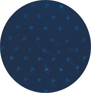 Hoffman Fabrics, Indah BATIKS Spring 2017, Triangles Indigo