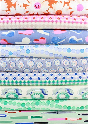 Melody Miller for Cotton and Steel, Trinket, Mod in FAT QUARTERS 9 Total (Pre-Cut)