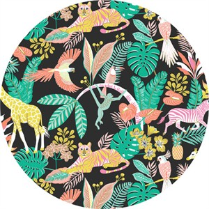 Josephine Kimberling for Blend, Tropical Paradise, Tropical Friends Black
