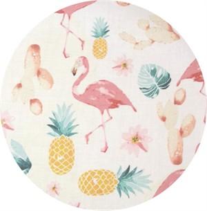 Hailey Hoffman for Hoffman Fabrics, Summer Punch, Tropical Tea Rose