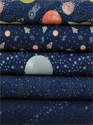 Lewis & Irene, To The Moon And Back, Midnight in FAT QUARTERS 5 Total
