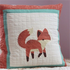 Sewing Tutorial | The Fox Says... Pillow by Plum and June