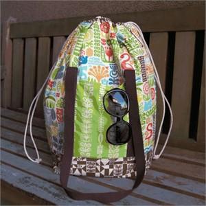 Tutorial: Ipanema Beach Bag by The Fabric Mutt