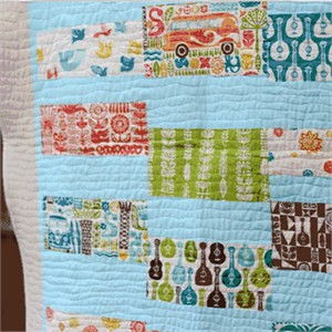 Tutorial: Ipanema Blocks Quilt by Plum and June