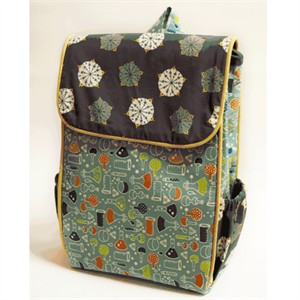 Tutorial: Little Hitchhiker's Backpack by Christina McKinney