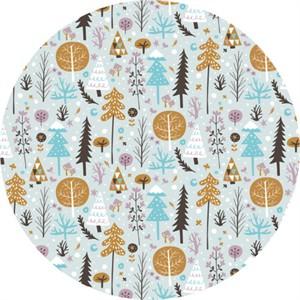 Camelot Fabrics, Snow Fall, Tundra Light Blue