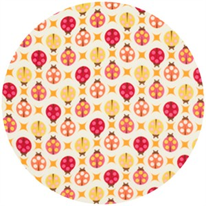 Tula Pink, The Birds and the Bees, VOILE, Lady Bugs Sugar