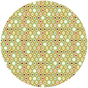 Tula Pink, Parisville, Eye Drops Mint