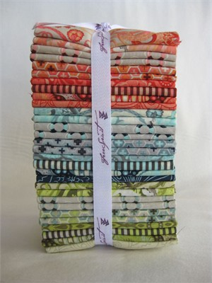 Tula Pink, Saltwater, Fat Quarter Bundle (Pre-cut), 30 Total