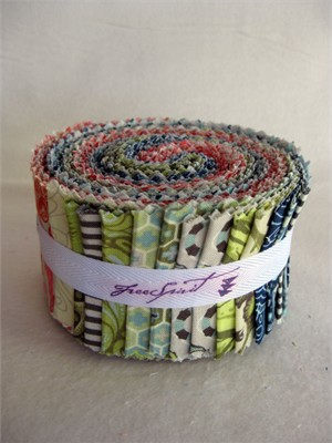 Tula Pink, Saltwater, Jelly Roll, 30 Total