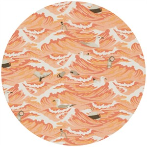 Tula Pink, Saltwater, Sea Debris Coral