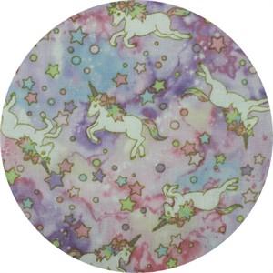 Japanese Import, DOUBLE GAUZE, Unicorn Galaxy