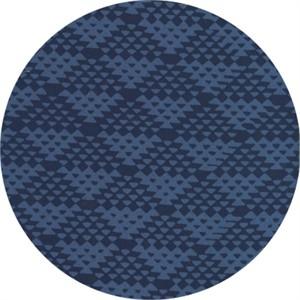 Hoffman Fabrics, Indah BATIKS, Up and Down Indigo