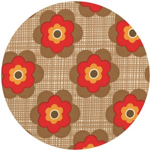 Urban Chiks, Boho, Flower Pop Brown