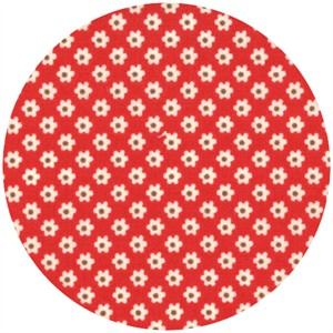 Urban Chiks, Boho, Pin Dot Posie Red