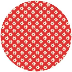 Urban Chiks, Boho, Pin Dot Posie Red