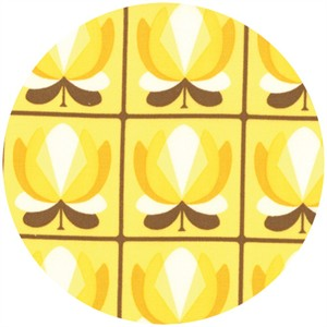 Urban Chiks, Boho, Tulip Tiles Yellow