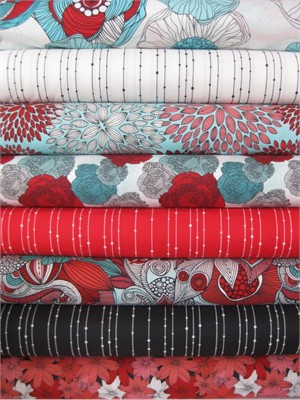 Valentina Ramos, Valentina, Celebration in FAT QUARTERS, 8 Total