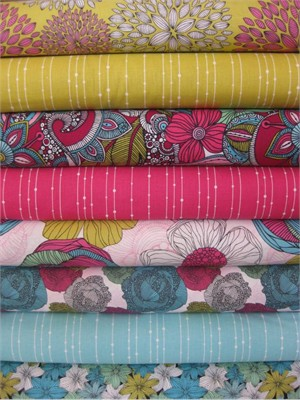 Valentina Ramos, Valentina, Garden in FAT QUARTERS, 8 Total