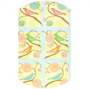 Valori Wells, Nest, Bird Panel Summer (1 Yard Panel)