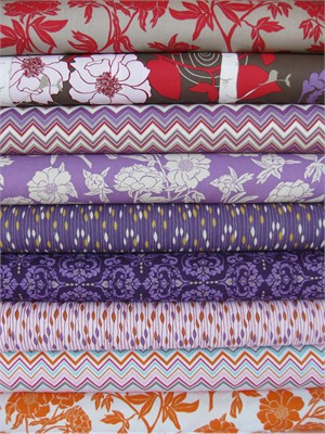 Valori Wells, Novella, Spice in FAT QUARTERS 8 Total