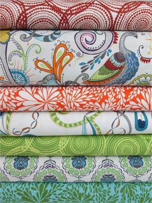 Valori Wells, Quill, Cabana in FAT QUARTERS 7 Total