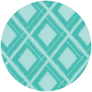 V & Co, Simply Color, Ikat Diamonds Aquatic Blue