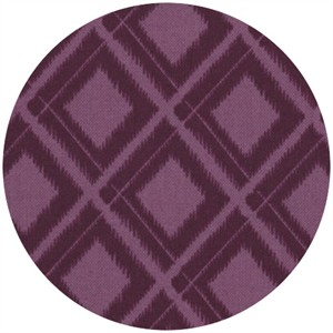 V & Co, Simply Color, Ikat Diamonds Eggplant