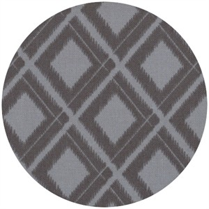 V & Co, Simply Color, Ikat Diamonds Graphite Grey