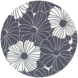 V & Co., Simply Style, Bold Blossom Graphite Grey