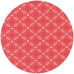 V & Co., Simply Style, Geometric Eyelet Honey Suckle Pink