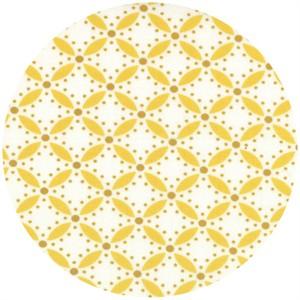 V & Co., Simply Style, Geometric Eyelet Mustard