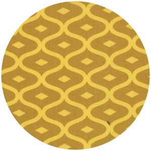 V & Co., Simply Style, Geometric Ogee Mustard