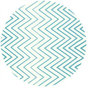 V & Co., Simply Style, Zig Zag Ombre Aquatic Blue