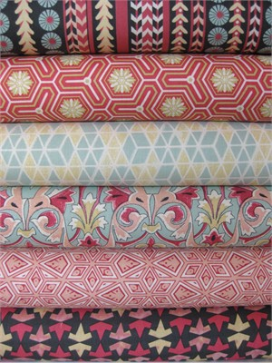 Victoria & Albert, Jones, Melon in FAT QUARTERS 6 Total