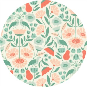 Elizabeth Olwen for Cloud9, ORGANIC, Park Life, Victorian Afternoon Pink