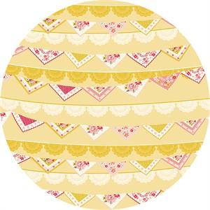 Design by Dani for Riley Blake, Vintage Daydream, Vintage Banner Gold